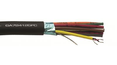 GA72412GFC - Gepco Brand High-Performance GepFlex® Audio Snake Cable 24 AWG 12-Pair