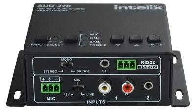 2 INPUT AUDIO AMPLIFIER, 2x20W (4 OHM) - 2 INPUT AUDIO AMPLIFIER, 2x20W (4 OHM)